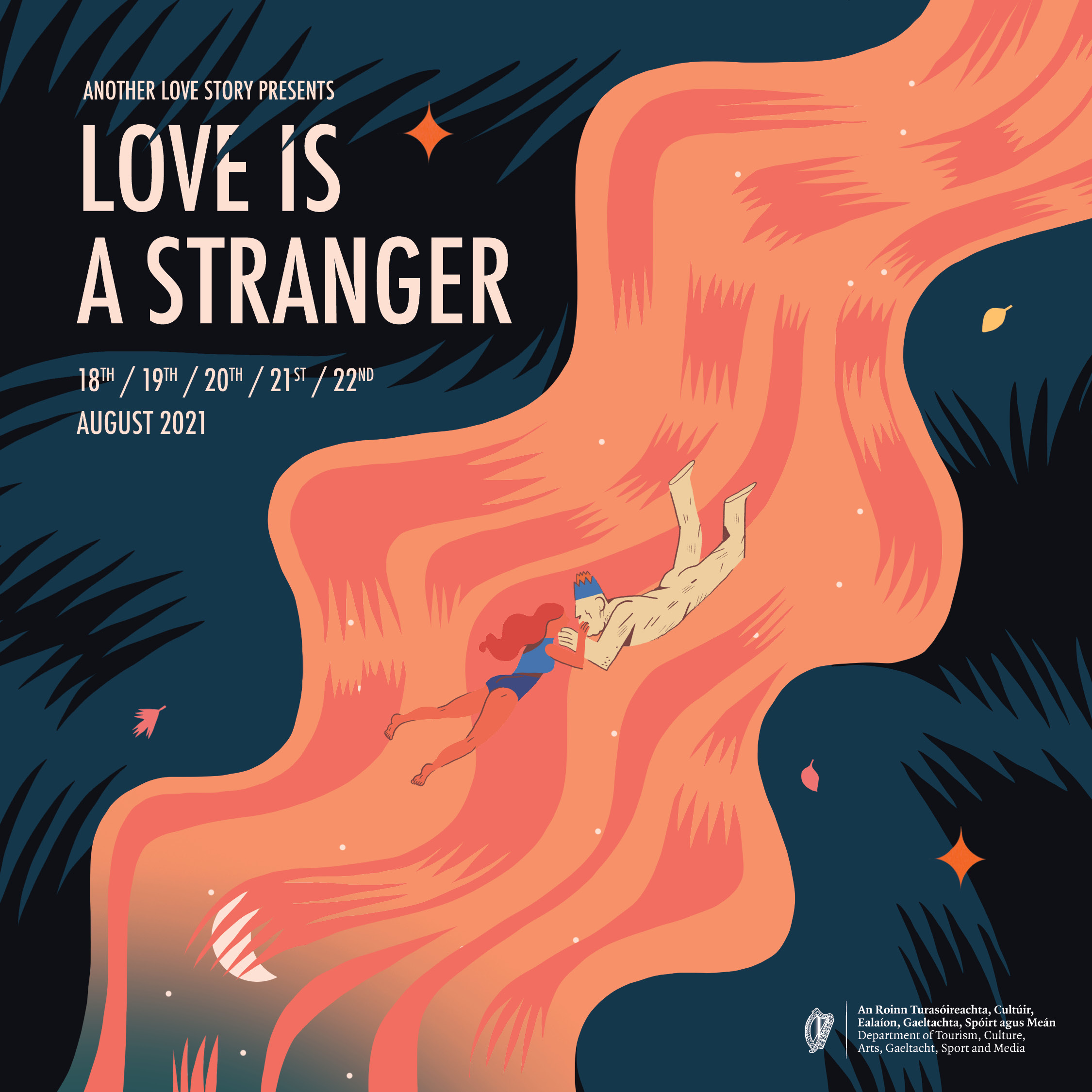 LOVE IS A STRANGER | 3 day line up | Aug 20th – 22nd